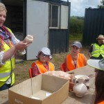 Learning about Roman pottery