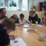 Sorting tiny artefacts