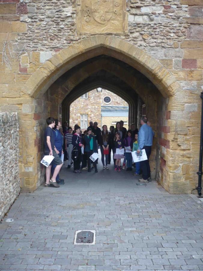 The Castle gateway